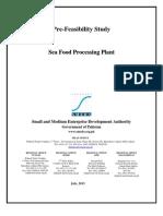 Prefeasibility Report on Sea Food Processing