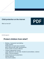 Child Protection on the Internet John Van Krieken - Presentation
