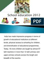School Education India 2012