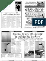 Versión impresa del periódico El mexiquense  28 agosto 2013