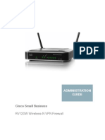 RV120W Wireless-N VPN Firewall