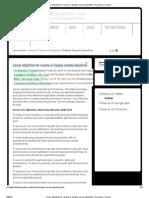 Career Objectives for Resume or Sample Resume Objectives