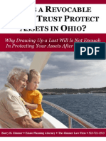 Does a Revocable Living Trust Protect Assets in Ohio?