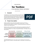 The Toolbox -- A Book Proposal (12 June 09)