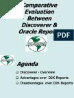 Discoverer 2000 vs Oracle Reports V2