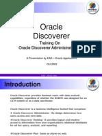 Discoverer Administration