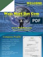 Waja Mart Dot Com Power Point Presentation