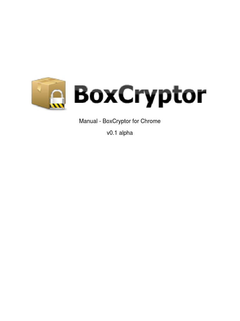 Boxcryptor Manual For Maceagleecho