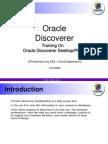 Discoverer Desktop Plus