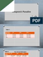 Beta's Paradox