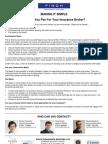 Making It Simple - Broker Remuneration - August 2013