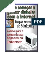 6806893 Sandro Neto Ribeiro Como ComeCar a Ganhar Dinheiro Com a Internet Truques Secretos de Marketing
