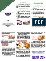 Leaflet Pijat Bayi (Print)