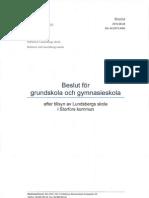 Läs Skolinspektionens beslut om Lundsberg