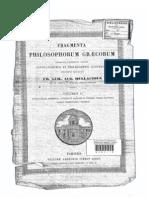 Pitagóricos y Comentario al Timeo de Chalcidius