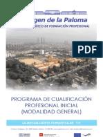 PROGRAMAS DE CUALIFICACIÓN PROFESIONAL INICIAL. Oferta 2013/14.