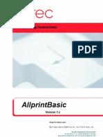 AL-71703-AA Manual AllprintBasic 1.x Alltec En
