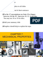 Mechanical Properties of Polymers