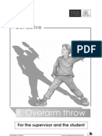 overarm throw