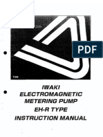 Electromagnetic Metering Pump - Instr. Man.