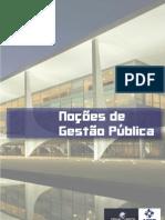 NOÇÕES DE GESTÃO PÚBLICA