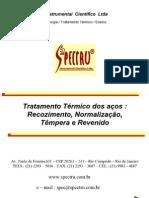 Tratamento Térmico dos aços _ Recozimento, Normalização, Têmpera e Revenido Coalescimento - tratamento