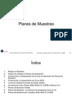 Planes de Muestreo - Curso CQE
