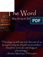 Theword Whystudythebible
