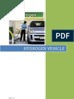 Hydrogen Vehicle Report
