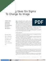 Samsung Uses Six Sigma to Change