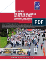 CCEEU and FIDH - False Positives, The War is Measured in Litres of Blood