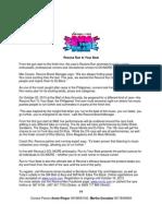 Run to Your Beat - Press Kit Article (Final)