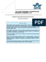 Ny Master Aircraft Lease Assignment Assumption and Amendment Agreement