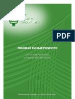 Programa Escolar Preventivo /Analistas conductuales