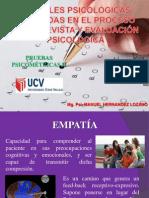 TEMA 1 - PRUEBAS PSICOMÉTRICAS - Variables Psicológicas