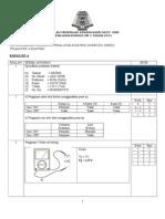 Skema Jawapan Ujian 1 - MpvMPED - Ting 4 - Mac 2013