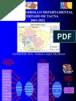 Exposicion Plan Desarrollo Tacan 2021