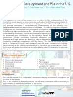 Infrastructure Development and P3s in the US - Brochure v2