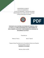 Tesis.PROPUESTA DE UN SISTEMA DE INFORMACIÓN GERENCIAL