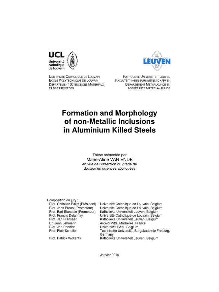 thesis ingenieurswetenschappen leuven