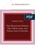 The Migration Period, Pre-Viking Age, and Viking Age in Estonia