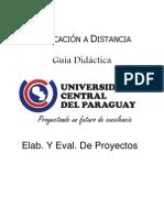 Elab. Y Eval. De Proyectos - Unidad III + Trabajo Práctico N° 3