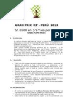 Bases II Gran Prix 2013 Piura