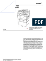 Xerox WorkCentre 5016 5020 Service manual