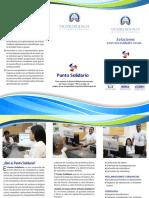 Brochure Punto Solidario