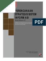 Mukhtasar Buku Strategic Planning for Information System