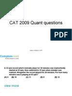 CAT Quant14