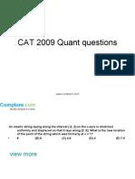 CAT Quant18
