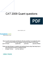 CAT Quant22