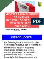 PLAN NACIONAL DE TICs 2010-2020 PERÚ